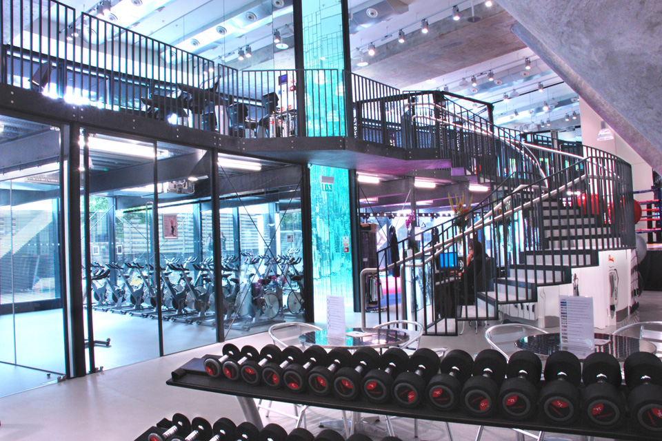 Stars Gym Space Fit outs