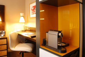 Hilton Doubletree Ealing – Bedrooms Coffee machine.jpg