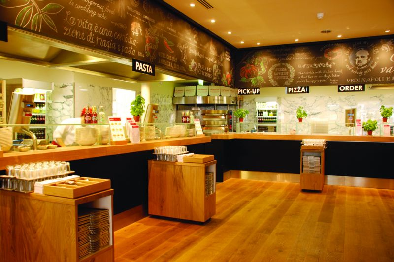 Fileturn Ltd Full Strip Out And Fit Out Of Vapiano